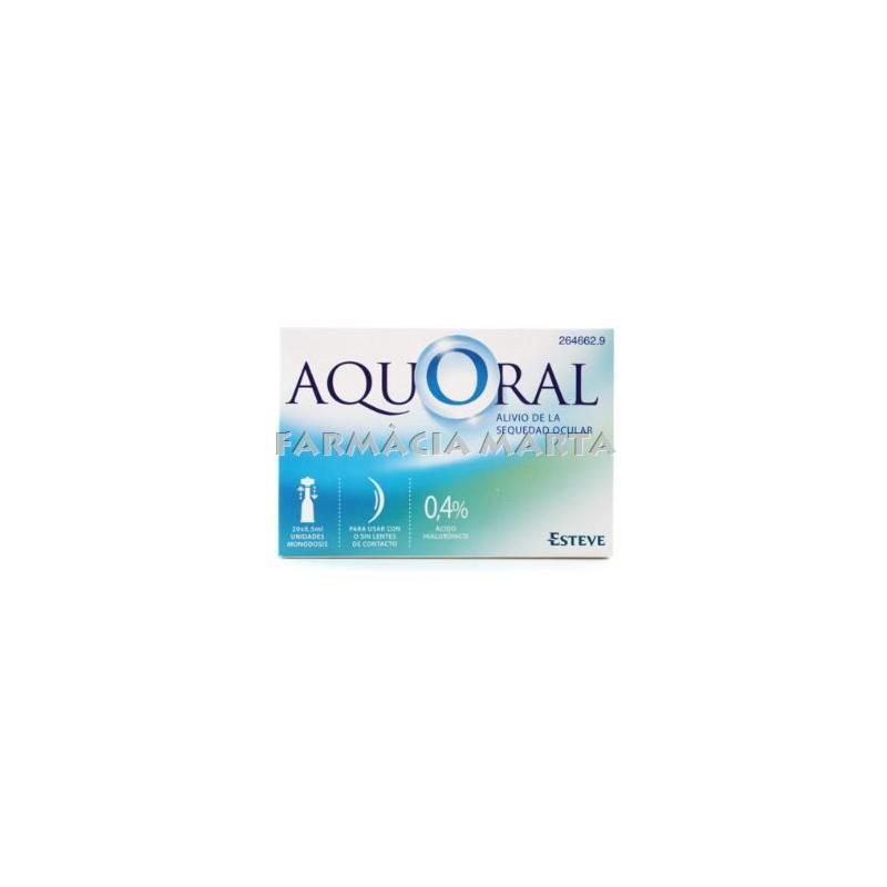 AQUORAL 0,5ML 20 UNITATS