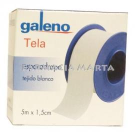 ESPARADRAP TELA BLANC GALENO 5m X 1.5cm