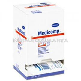 MEDICOMP COMPRESES NON WOVEN APOSIT ESTERIL 10x10