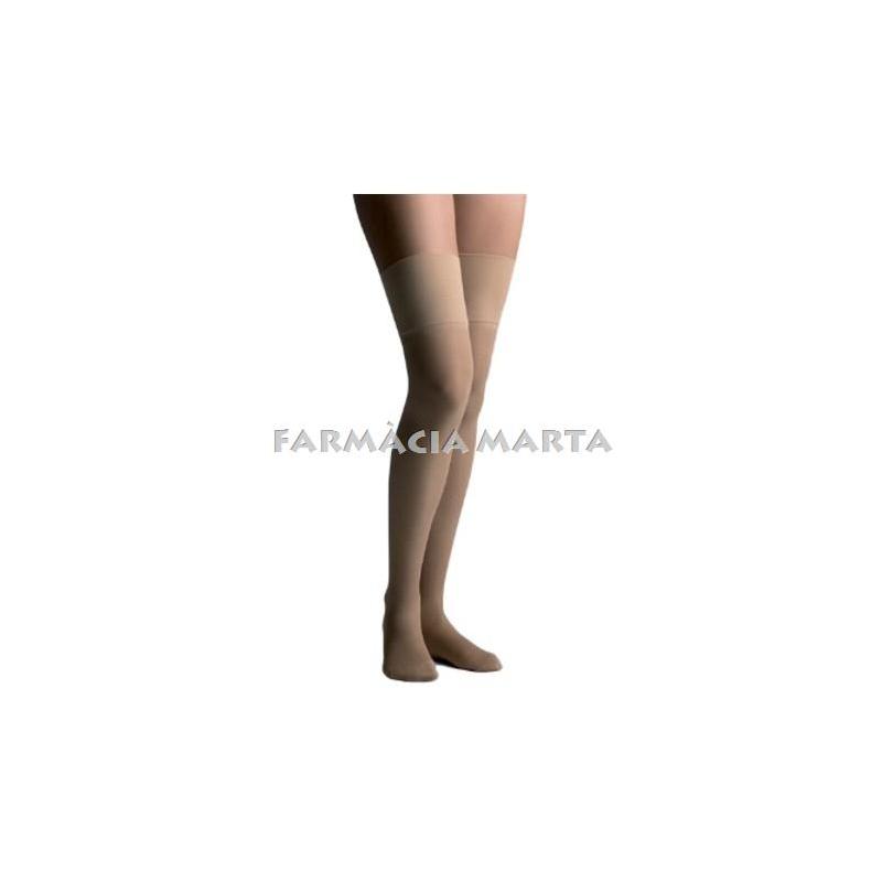 FARMALASTIC MITJA LLARGA BLONDA COMPRESSIO 280 TALLA REINA PLUS