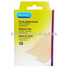 TIRES ALVITA TELA 10 UNITATS 100mmX60mm