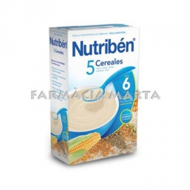 NUTRIBEN  5 CEREALS 600 GR