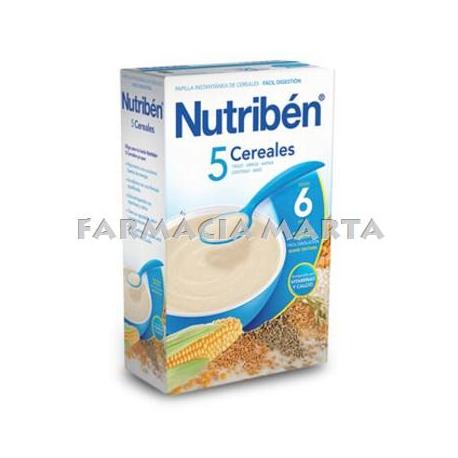 NUTRIBEN 5 CEREALS 600 G (2x300GR)