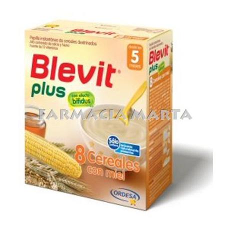 BLEVIT PLUS BIFIDUS 8 CEREALS MEL 600 G (2X300GR)