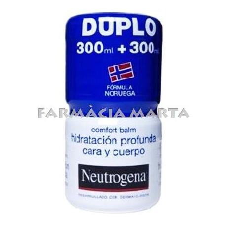 NEUTROGENA DUPLO CONFORT BALSAM HIDRATACIÓ 300 ML