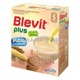 BLEVIT PLUS BIFIDUS 8 CEREALS I GALETES MARIA 600 GR