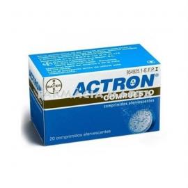 ACTRON COMPUESTO 20 COMPRIMITS EFERVESCENTS