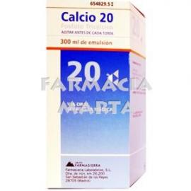 CALCIO 20 EMULSIÓ 300 ML