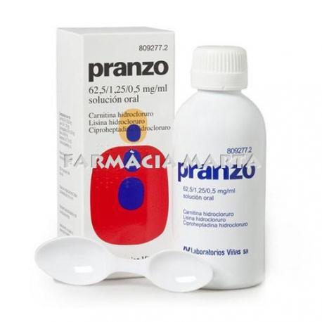 PRANZO XAROP 200 ML
