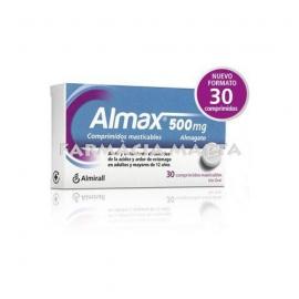 ALMAX 30 COMPRIMITS MASTICABLES
