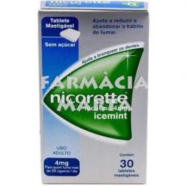 NICORETTE ICE MINT 4 MG 105 XICLETS