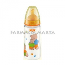 NUK BIBI PC FC LAT 1M 300ML 1 U BOCA AMPLE