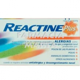 REACTINE PLUS 14 COMPRIMITS