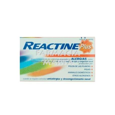 REACTINE PLUS 14 COMPRIMITS