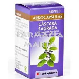 ARKOCAPSULAS CASCARA SAGRADA 250 mg CAPSULAS DURAS, 50 cápsulas