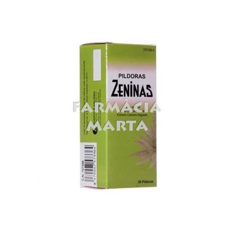 PILDORAS ZENINAS 30 COMPRIMITS