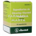 VILARDELL 18 SUPOSITORIS DE GLICERINA ADULTS POT