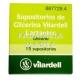 VILARDELL 15 SUPOSITORIS DE GLICERINA LACTANTS POT