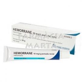 HEMORRANE POMADA RECTAL 30 GR