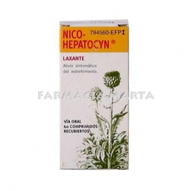 NICO-HEPATOCYN 60 COMPRIMITS