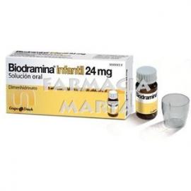 BIODRAMINA INFANTIL 24 MG 5 UNIDOSIS 6 ML