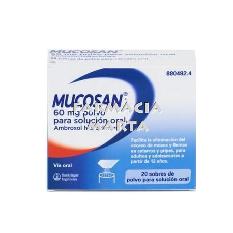 MUCOSAN 30MG/5ML XAROP 250 ML