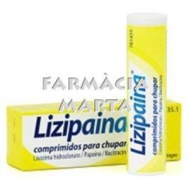 LIZIPADOL 20 MG 18 PASTILLES PER XUPAR