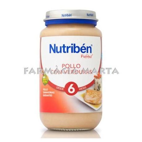 NUTRIBEN JR POLLASTRE AMB VERDURES 200 GR