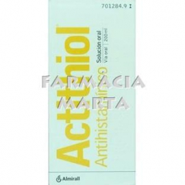 ACTITHIOL ADULTS XAROP 5% 200 ML
