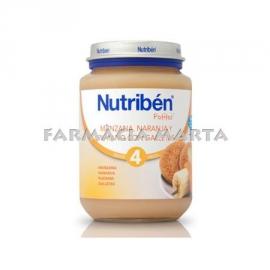NUTRIBEN JR POMA TARONJA PLATAN GALETA 200 GR