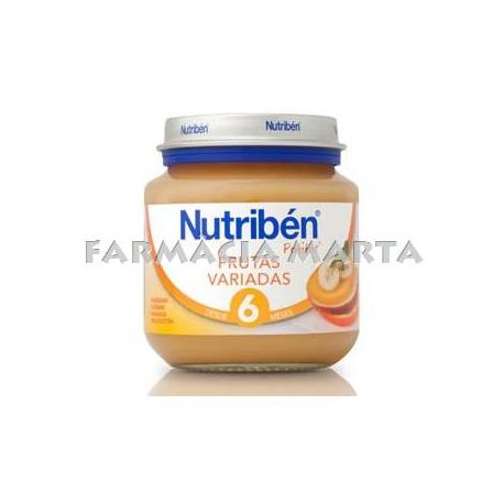 NUTRIBEN INICI FRUITES VARIADES 130 GR