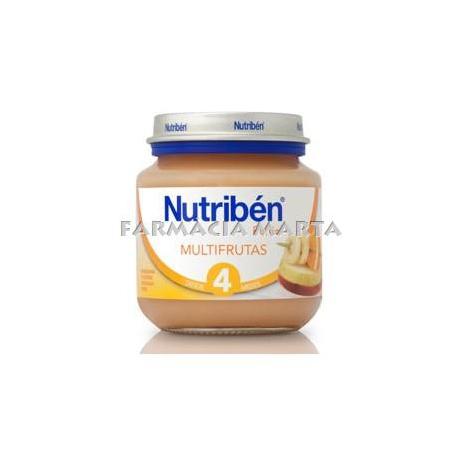 NUTRIBEN INICI MULTIFRUITES 130 GR
