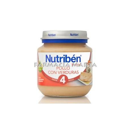NUTRIBEN INICI POLLASTRE AMB VERDURES 130 GR