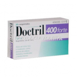 DOCTRIL 400 FORTE BLISTER 20 COMPRIMITS