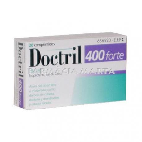 DOCTRIL 400 FORTE BLISTER 20 COMPRIMITS