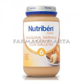 NUTRIBEN GRAN POMA TARONJA PLATAN I GALETA 235 GR