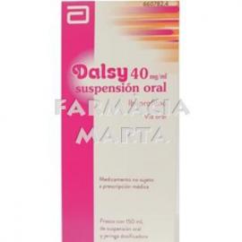 DALSY 40 MG/ML SUSPENSIÓ ORAL 150 ML