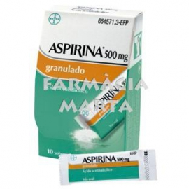 ASPIRINA 500 MG GRANULAT 10 SOBRES
