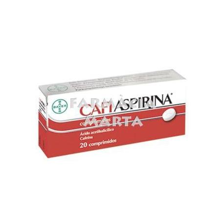 CAFIASPIRINA 500 M 50 MG 20 COMPRIMITS