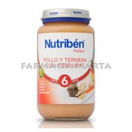 NUTRIBEN GRAN POLLASTRE VEDELLA VERDURES 250 GR