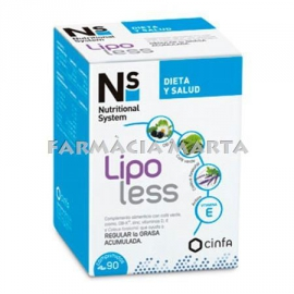 NS LIPOLESS 90 COMPRIMITS