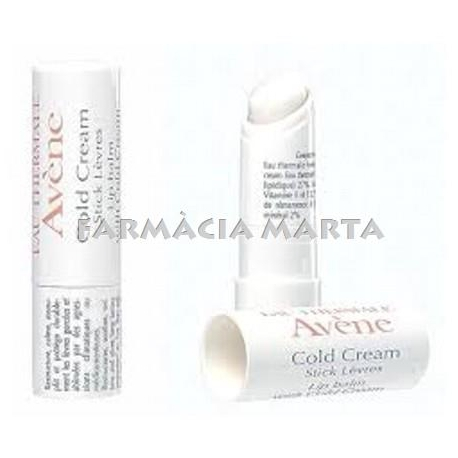 EAU THERMALE AVENE STICK LABIAL AL COLD CREAM, 4G