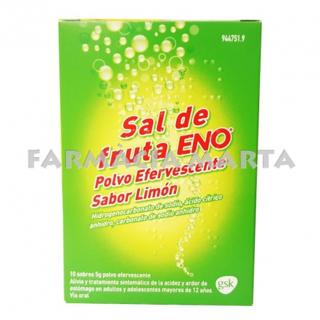 SAL DE FRUTA ENO LLIMONA 10 SOBRES