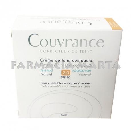 AVENE COUVRANCE CREMA COMPACTE NATURAL SPF 30