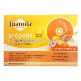 JUANOLA PASTILLES PROPOLIS AMB MEL I ALTEA