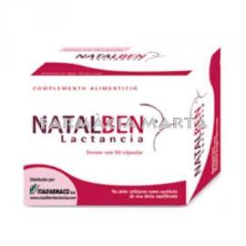 NATALBEN LACTANCIA 60 CAPSULES