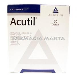 ACUTIL 30 CAPSULES