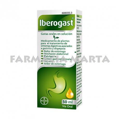 IBEROGAST GOTES ORALS 50 ML