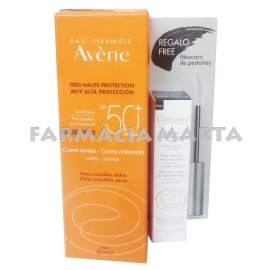 AVENE SOLAR 50+ FPS CREMA COLOR 50 ML + MÀSCARA PESTANYES
