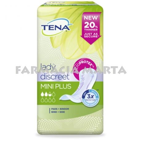 TENA LADY MINI PLUS 16 UNITATS 2.5*
